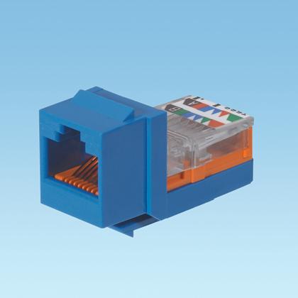 Panduit modular jack cat5 NK5E88MBUY (blue)