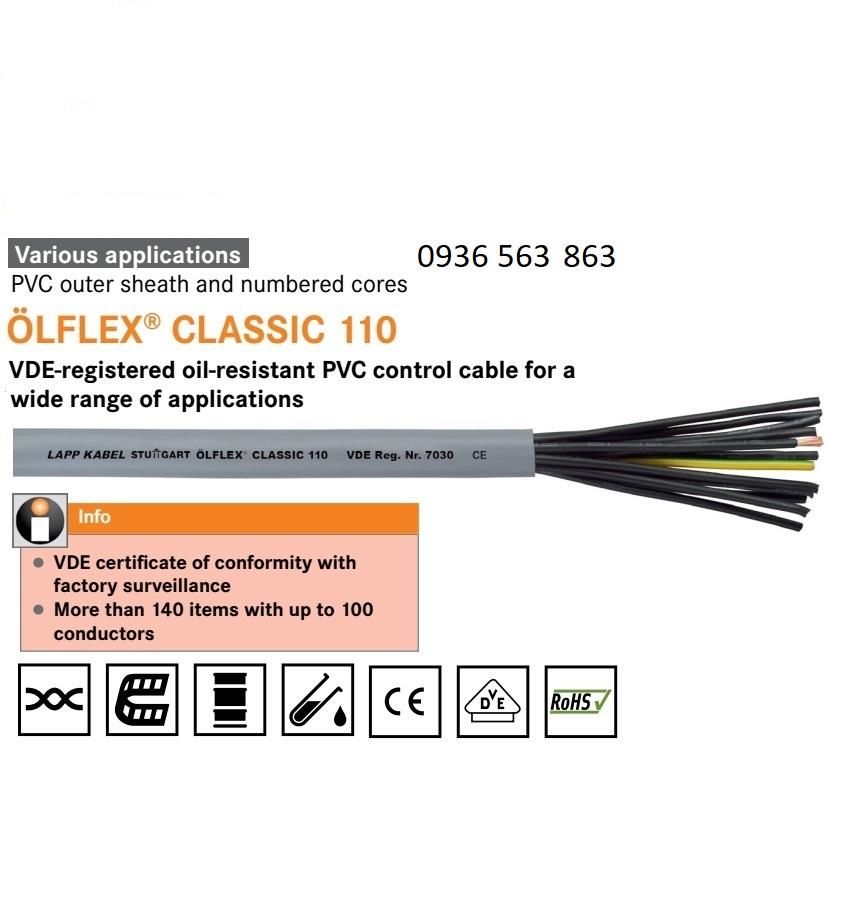 LAPP KABEL 1119645 OLFLEX CLASSIC 110
