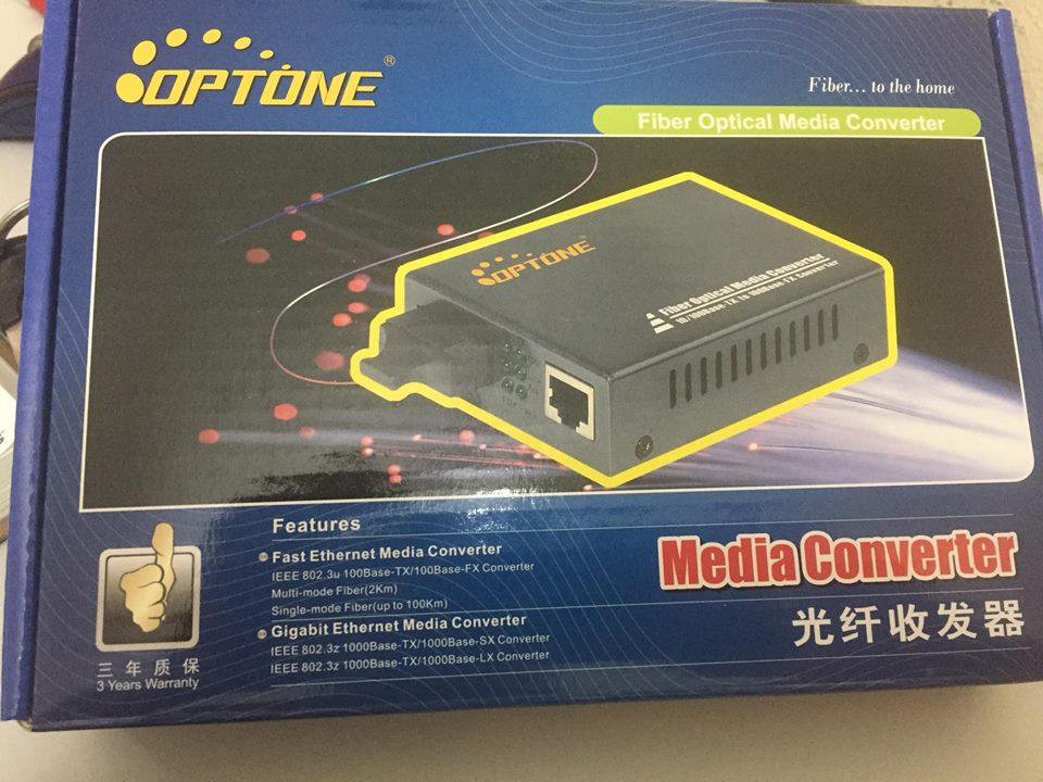 Media Converter  Model:OPT-1100S25