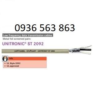 UNITRONIC ST 1x 2 x 16 AWG (3800717) Mã sản phẩm: 3800717