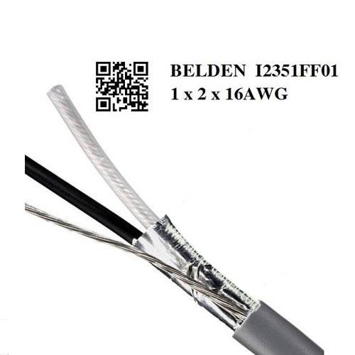 Cáp Điều Khiển BELDEN 1 x 2 x 16AWG Shielded, Mã sản phẩm : I23351FF01